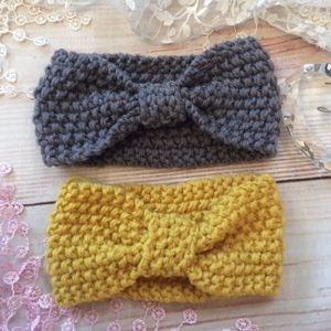 Other - Boutique Baby Girls Crocheted Headbands